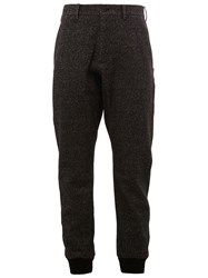 08Sircus Cuffed Trousers Black