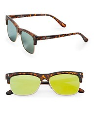 Steve Madden 51Mm Square Sunglasses Tortoise