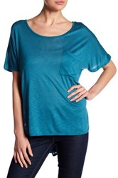 Bobeau Pocket Tee Blue