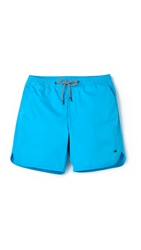 Marc By Marc Jacobs Solid Swim Trunks Ink Blue
