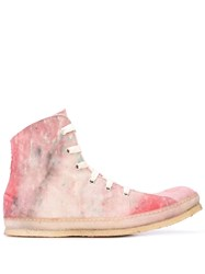A Diciannoveventitre Distressed High Top Sneakers 60