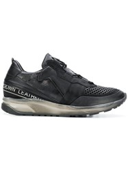 Leather Crown Iconic Sneakers Black