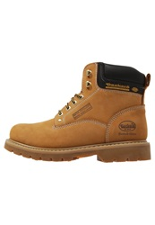 Dockers By Gerli Laceup Boots Golden Tan Brown
