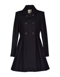 Trou Aux Biches Coats Dark Blue