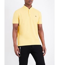The Kooples Classic Fit Cotton Polo Shirt Yel31