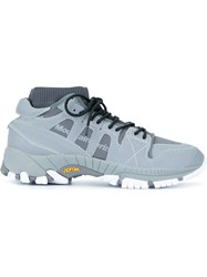 White Mountaineering Contrast Low Top Sneakers Grey