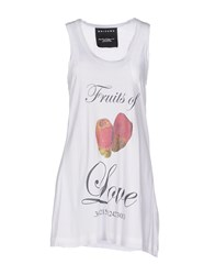 Nhivuru Topwear Vests Women White
