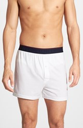 Men's Polo Ralph Lauren 'Supreme Comfort' Classic Fit Knit Boxers White