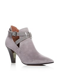 Donald J Pliner Tamy Pointed Toe Booties Storm