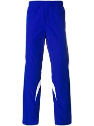 Tim Coppens Pieced Joggers Cotton Polyamide Blue