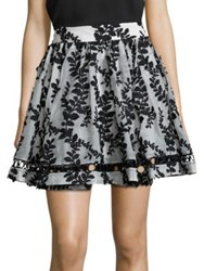 Zimmermann Winsome Silk Embroidered Skirt