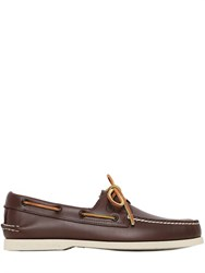 Sperry Top Sider A O 2 Eye Leather Boat Shoes