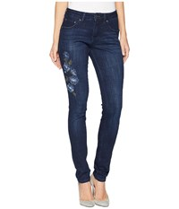 Jag Jeans Sheridan Skinny W Embroidery In Thorne Blue Night Breeze