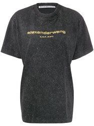 Alexander Wang Logo Embroidered T Shirt 60