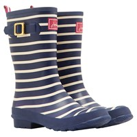 Joules Molly Mid Wellington Boot Navy