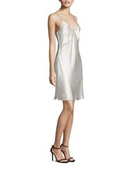 Bailey 44 Karen Satin Slip Dress Cream