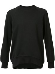 En Noir Crew Neck Sweatshirt Black