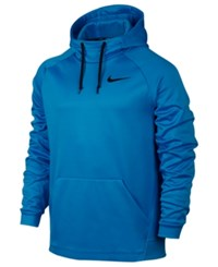 Nike Men's Therma Training Hoodie Light Photo Blue