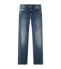 Boss Albany Relaxed Fit Jeans Male Blue