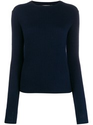 Vince Ribbed Crew Neck Jumper 60