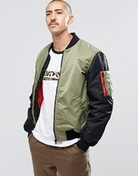Converse Ma 1 Bomber In Green 10001128 A03 Green