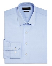 Bloomingdale's The Men's Store At Textured Dot Slim Fit Dress Shirt 100 Exclusive Blue