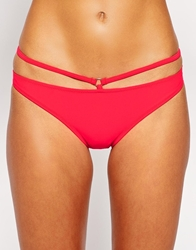 Evil Twin Strappy Triangle Bikini Bottom Psyschored