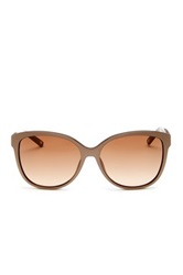 Escada Women's Modified Cat Eye Sunglasses Brown