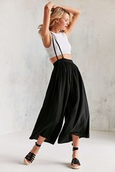 Silence And Noise Cyclops Suspender Pant Black