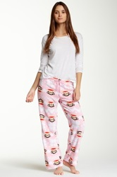 Paul Frank Cute And Cozy Pant Pink