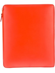 Comme Des Garcons Play Logo Ipad Case Yellow And Orange