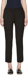 Acne Studios Black Cropped Saville Trousers