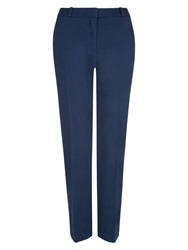 Hobbs Emma Cotton Trousers Indigo