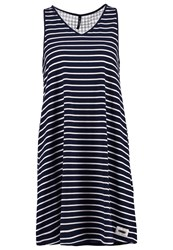 Smash Macaua Jersey Dress Navy Dark Blue