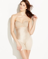 Naomi And Nicole Shapewear Firm Control High Waist Thigh Slimmer 7118 Nude