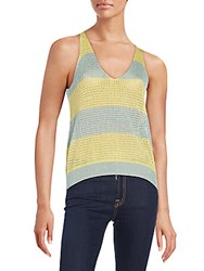 Zadig And Voltaire Mesh Sleeveless Top Miscellane