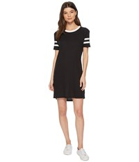 Alternative Apparel Eco Jersey Stadium T Shirt Dress Eco True Black