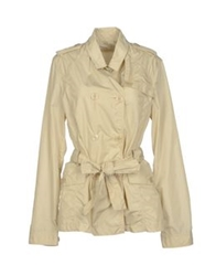 Gaudi' Full Length Jackets Beige