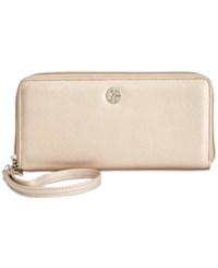 Giani Bernini Softy Slim Zip Around Wallet Only At Macy's Bronze