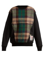 Vivienne Westwood X Harris Tweed Organic Cotton Sweatshirt Black