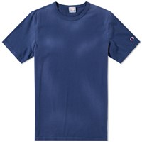 Champion Reverse Weave Enzyme Washed Tee Blue