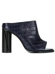 Manning Cartell 'Academy' Mules Blue