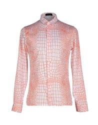 Kris Van Assche Krisvanassche Shirts Shirts Men Orange