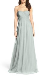 Wtoo Women's Strapless Tulle Gown
