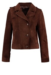 Banana Republic Leather Jacket Brown Global