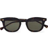 Max Pittion Livingston Tortoiseshell Acetate Sunglasses Brown