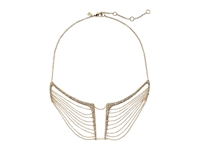 Alexis Bittar Encrusted Multi Chain Bib Necklace