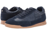 Guess Daryl Navy Suede Men's Shoes Blue