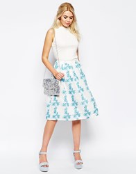 Traffic People Dreaming Of Days Prom Skirt Blue