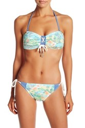 Sperry Sunbleached Beach Bandeau Bikini Top Multi